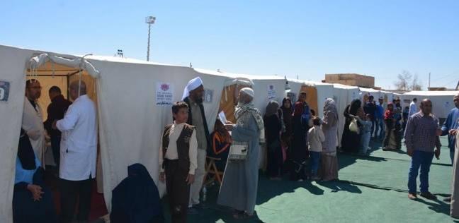 قافلة طبية تواصل تقديم خدماتها لأهالي قرية جدة في الوادي الجديد