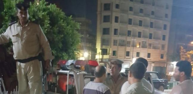 بالصور| تحرير 287 محضر مخالفات إشغال في حملة بطنطا