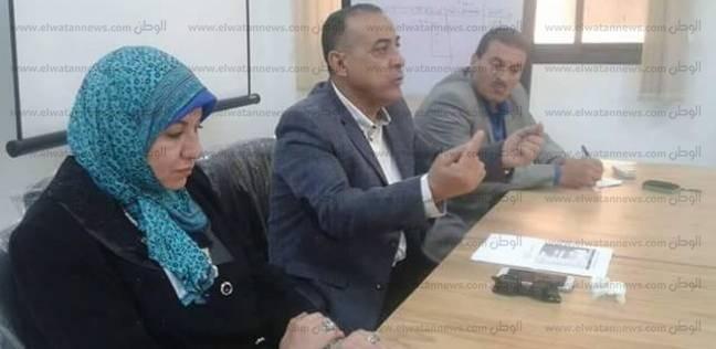 أمين عام جامعة قناة السويس يطالب بضرورة استخراج بطاقات التعريف للطلاب