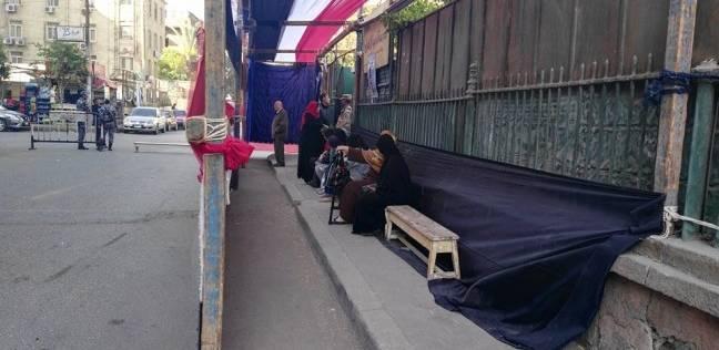 تكثيف أمني أمام لجان منشأة ناصر وسط أجواء هادئة
