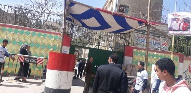 إغلاق لجنة مدرسة رفاعة الطهطاوي في بولاق الدكرور لاستراحة الغداء
