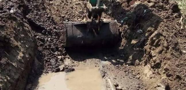 انقطاع مياه الشرب بفارسكور بسبب كسر بالخط الرئيسي