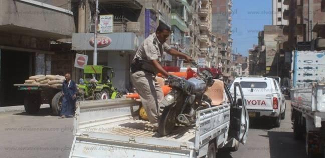 ضبط 653 مخالفة في حملة مرورية بسوهاج