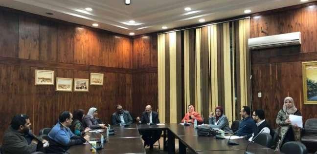 اجتماع اللجنة العليا للتصنيفات الدولية بجامعة طنطا