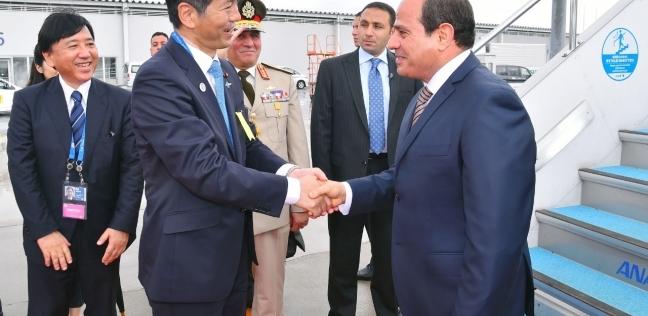 مصر   عاجل  السيسي يعقد جلسة مباحثات مع رئيس الوزراء الياباني