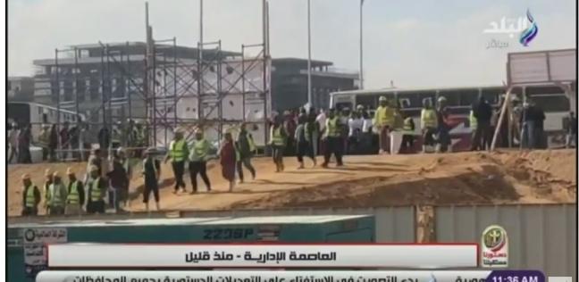 """أحمد موسى: أصحاب """"السترات الصفراء"""" بالعاصمة الإدارية اختاروا الاستقرار"""