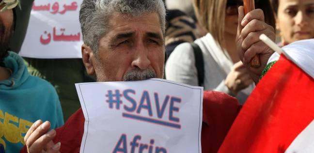 """""""عفرين"""" في 24 ساعة.. تركيا تقصف الماشية وتستخدم المدنيين كدروع بشرية"""