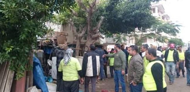 بالصور| تشميع الجراجات المخالفة وغلق ملاهي في حملة بمدينة رأس البر