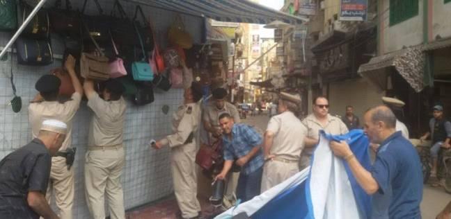إزالة 810 مخالفة إدارية في حملة أمنية بالقاهرة خلال 24 ساعة