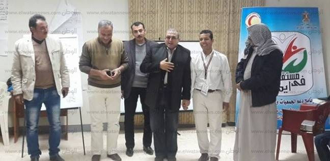 بالصور  وكيل وزارة التضامن الاجتماعي بجنوب سيناء يناشد الشباب بالمشاركة في المحليات