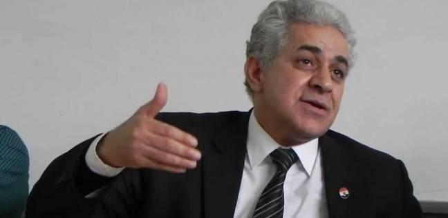"""عاجل  قطع البث عن قناة """"دريم"""" أثناء حوار حمدين صباحي"""
