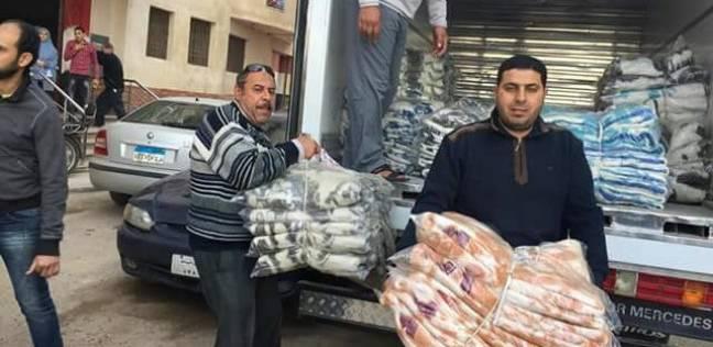 تقديم 2000 بطانية لمواجهة فصل الشتاء للأكثر احتياجات بمحافظة دمياط