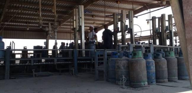 ضبط مستودع يبيع إسطوانات البوتاجاز في السوق السوداء بالشرقية