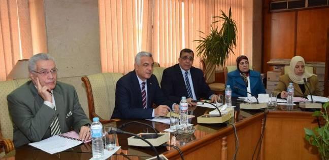 نائب مجلس شئون التعليم والطلاب بجامعة المنوفية يترأس الاجتماع الشهري