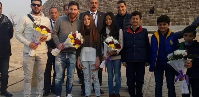 """""""السياحة"""": زيارة ميسي أكبر رسالة للعالم بأمان مصر"""
