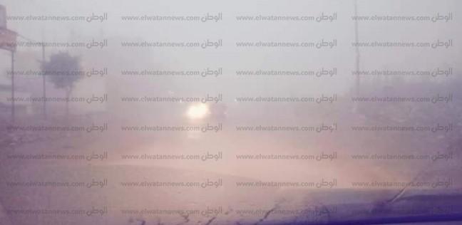 """""""المرور"""": إغلاق طريق """"إسكندرية الصحراوي"""" بسبب الشبورة"""