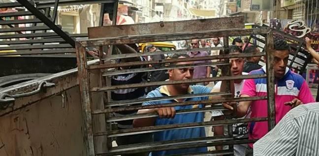 """""""شرطة المرافق"""" تضبط 36 قضية في حملة مكبرة بمطروح"""