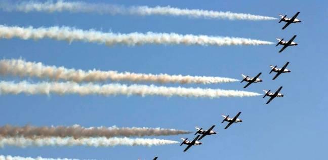 عروض جوية للقوات المسلحة في سماء القاهرة الكبرى
