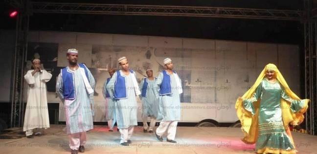 فرقة أسوان الشعبية تشارك في احتفالات العيد القومي لدولة إريتريا