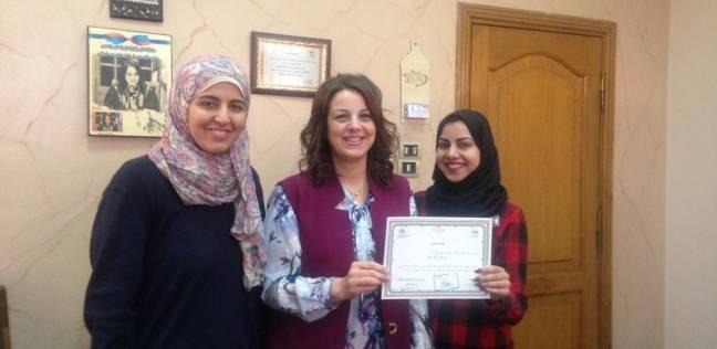"""تكريم الطلاب المشاركين في حملة توعية لترشيد المياه بـ""""عين شمس"""""""