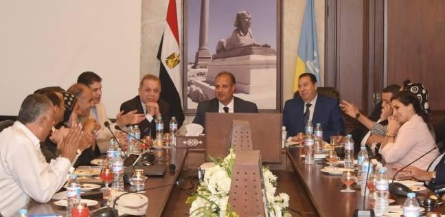 """محافظ الإسكندرية يجتمع مع وفد برلماني لمناقشة تطوير """"أبو مينا"""" الأثرية"""