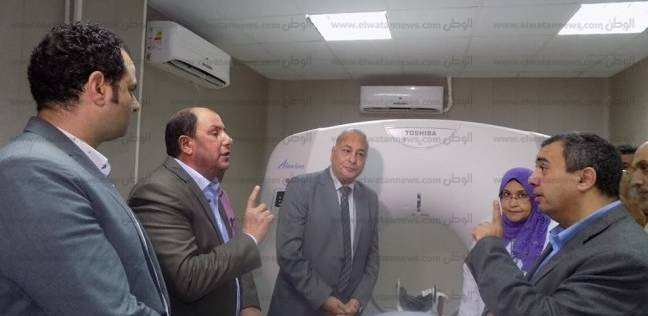 افتتاح وحدة الأشعة المقطعية بمستشفى رشيد في البحيرة