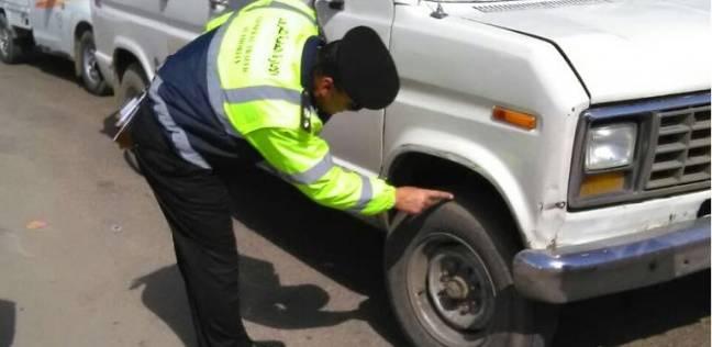 حملات مرورية للتأكد من سلامة إطارات السيارات
