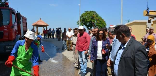 محافظ دمياط تضع سيناريو لمواجهة الأمطار والسيول المحتملة في فارسكور