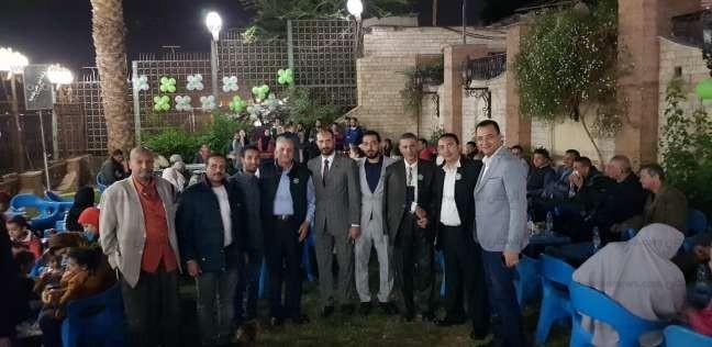 """وفد أسيوط يحتفل بفوز """"بركات"""" بعضوية الهيئة العليا للحزب بعد غياب سنوات"""