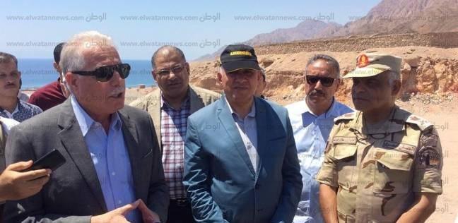 خالد فودة يستعرض مشروعات الحماية من مخاطر السيول في جنوب سيناء