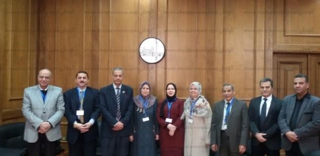 """وصول المشاركين في مؤتمر """"أمراض دم الأطفال"""" بـ""""طب كفرالشيخ"""""""