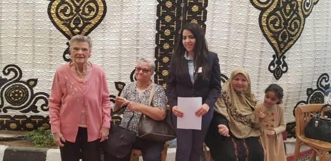 """حفيدة أحمد رشدي تترأس لجنة انتخابية بمصر الجديدة: """"أستكمل مسيرة جدي"""""""
