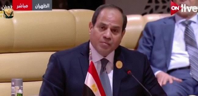 """رئيس النواب يحيل خطاب السيسي بقمة السعودية لـ""""لجنة الشؤون العربية"""""""