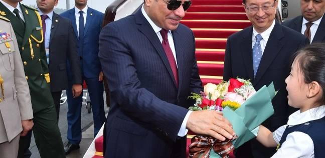 الرئيس السيسي يعقد جلسة مباحثات ثنائية مع نظيره الصيني