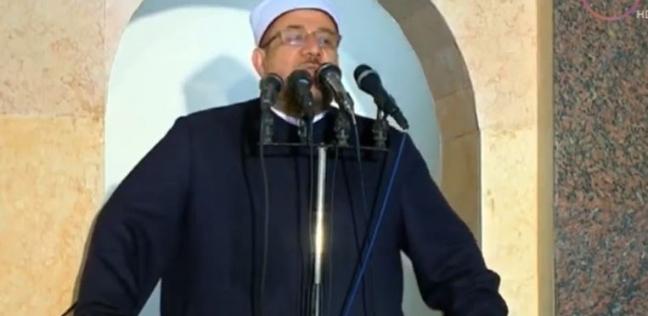 وزير الأوقاف: نقود أكبر حملة لعمارة المساجد.. وزكاة الفطر 13 جنيها