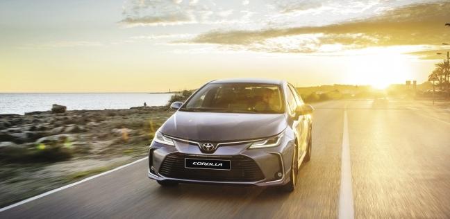 الآن فى مصر: السيارة الأكثر مبيعاً فى العالم.. «تويوتا كورولا» الجديدة