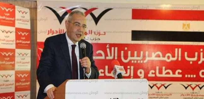 """رئيس"""" المصريين الأحرار"""" يدلي بصوته في الانتخابات الرئاسة بمصر الجديدة"""