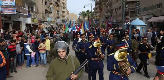 محافظة المنوفية تحتفل بالعيد الـ66 للشرطة وذكرى ثورة 25 يناير