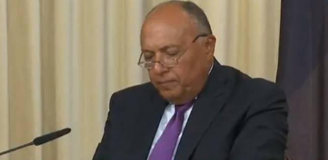 «شكري»: مصر السابعة بين الدول المشاركة في عمليات حفظ السلام