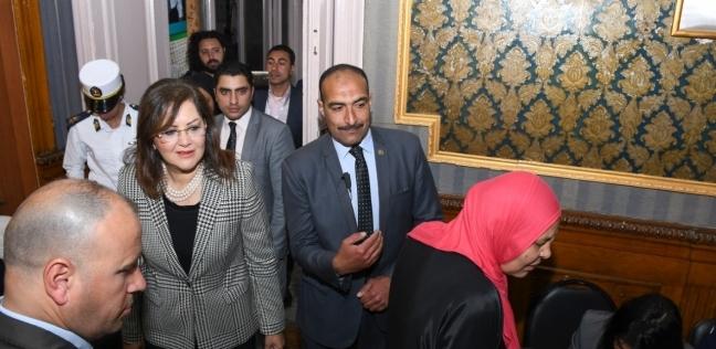 وزيرة التخطيط: المشاركة في الاستفتاء الدستوري واجب وطني