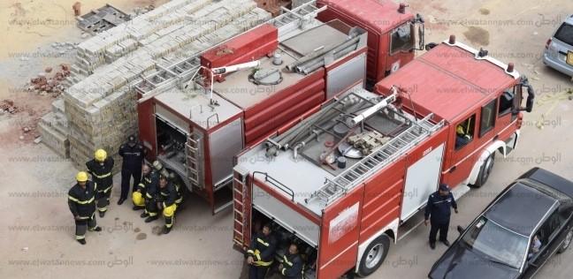 """إصابة أمين شرطة بـ""""الحماية المدنية"""" أثناء إطفاء حريق منزل في قنا"""