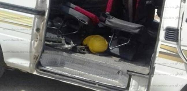 """إصابة 6 أشخاص في انقلاب سيارة ميكروباص بطريق """"القاهرة- أسيوط"""""""