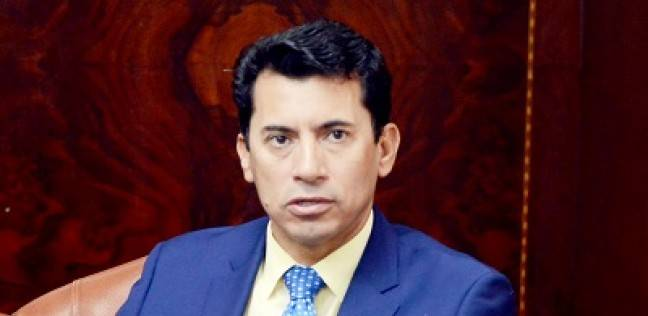 أشرف صبحي يشهد ختام برنامج تنمية مهارات وتأهيل الشباب لسوق العمل
