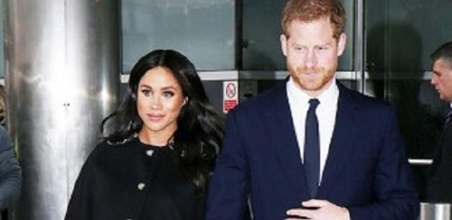 الأمير هاري وزوجته ميجان ميركل