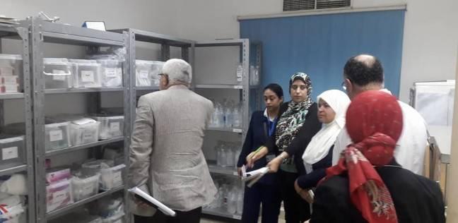 """فريق من """"صحة الإسكندرية"""" يزور مستشفى العامرية لمتابعة الخدمة الطبية"""