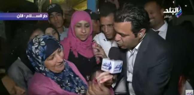 """بالفيديو  حشود بلجان دار السلام.. ومواطنة: """"عايزة السيسي يحكم 60 سنة"""""""
