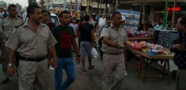 حملة موسعة لإزالة الإشغالات بشوارع وأسواق مدينة رأس البر