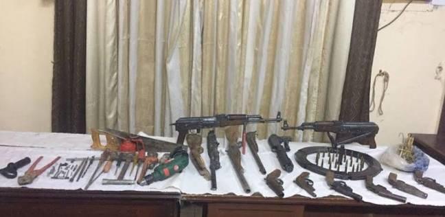 الأمن العام يضبط 160 قطعة سلاح ناري و332 طلقة