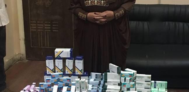 ضبط صيدلي وربة منزل بحوزتهما 10 آلاف قرص مخدر في الأميرية