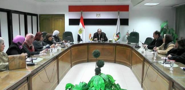 محافظ سوهاج يلتقي أعضاء المجلس القومي للمرأة